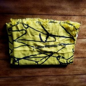 Accessories - Mossimo mustard yellow body wrap scarf